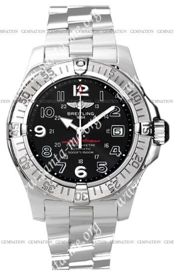 Breitling Superocean 2008 Mens Wristwatch A1736006.B909-SS