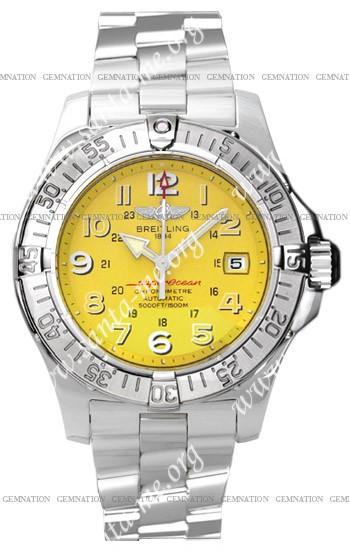 Breitling Superocean 2008 Mens Wristwatch A1736006.I514-SS