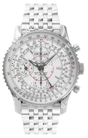 Breitling Montbrillant Datora Mens Wristwatch A2133012.G518-SS