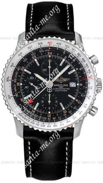 Breitling Navitimer World Mens Wristwatch A2432212.B726-BLT