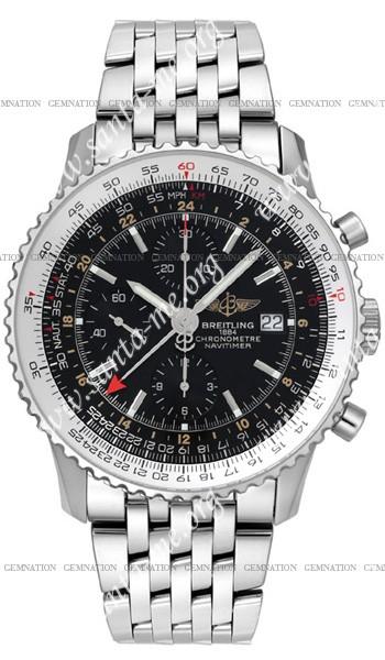 Breitling Navitimer World Mens Wristwatch A2432212.B726-SS