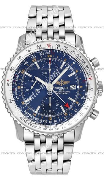Breitling Navitimer World Mens Wristwatch A2432212.C561-SS