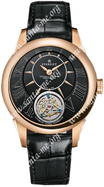 Perrelet Tourbillon Mens Wristwatch A3002.2