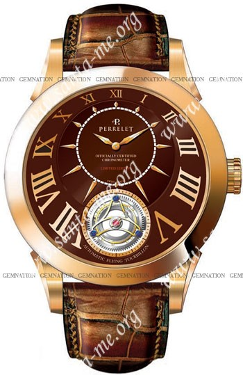 Perrelet Tourbillon Mens Wristwatch A3002.5