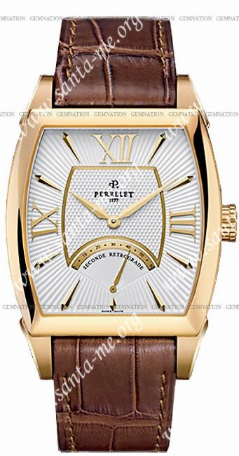 Perrelet Seconds Retrograde Mens Wristwatch A3004.1