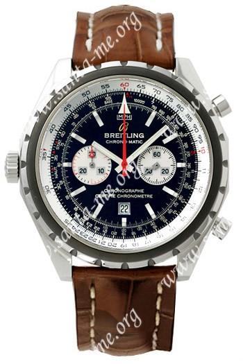 Breitling ChronoMatic Mens Wristwatch A4136012.B765-739P