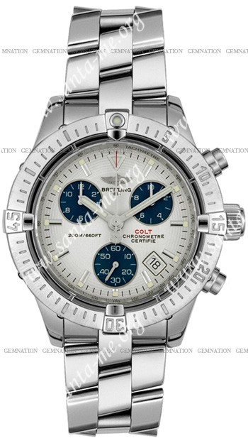 Breitling Chrono Colt II Mens Wristwatch A7338011.G597-SS