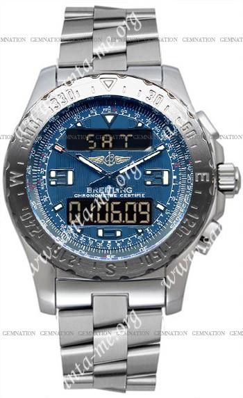 Breitling Airwolf Mens Wristwatch A7836315.C761-SS