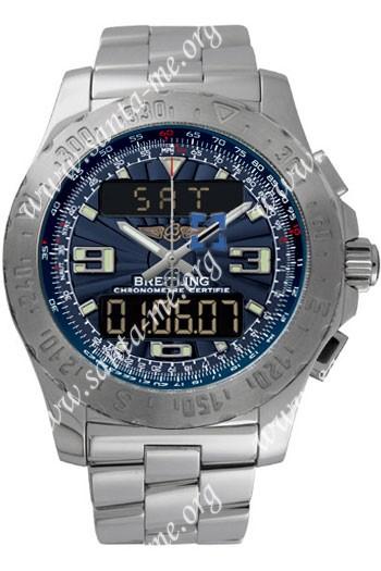 Breitling Airwolf Mens Wristwatch A7836323.BLU-SS