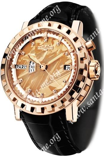 DeWitt Silicium Hora Mundi Mens Wristwatch AC.2121.53.M625