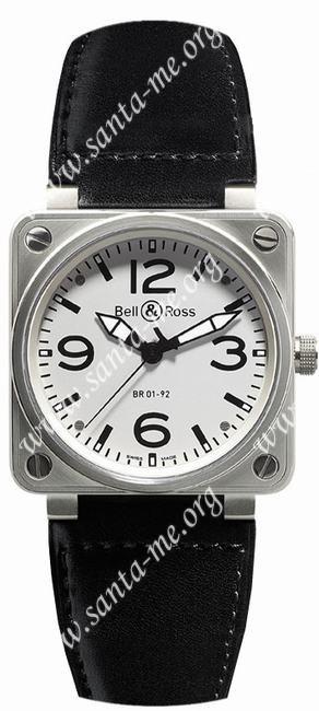 Bell & Ross  Mens Wristwatch BR01-92-WD-B-V-27