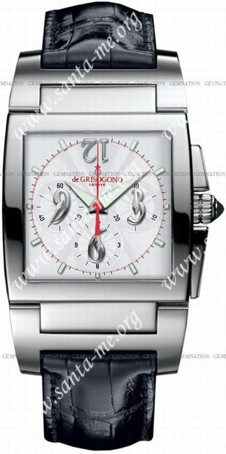 DeGrisogono Instrumento Uno Chronographe Chrono No 2 Mens Wristwatch ChronoNo2
