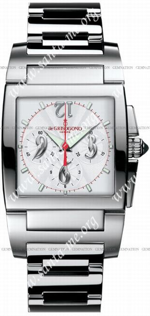 DeGrisogono Instrumento Uno Chronographe Chrono No 2 Mens Wristwatch ChronoNo2B