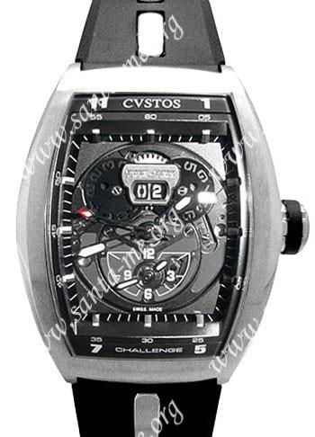 Cvstos Challenge Twin Time Mens Wristwatch CTT.SBR