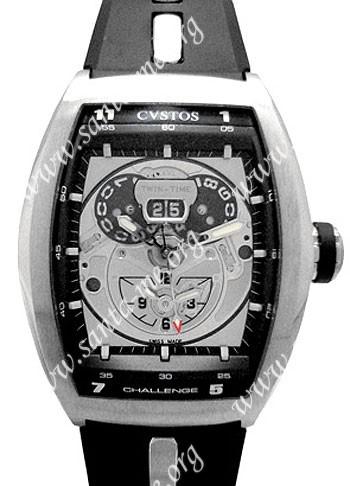 Cvstos Challenge Twin Time Mens Wristwatch CTT.SWR