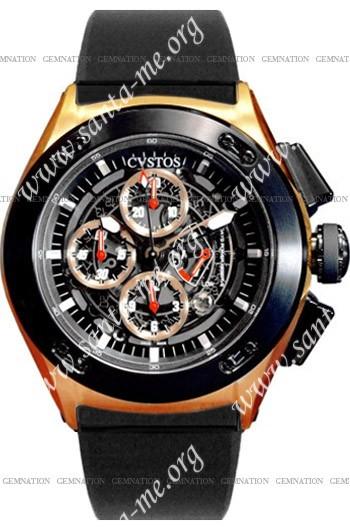 Cvstos Challenge-R 50 Chronograph Mens Wristwatch CVCRRNRGGR