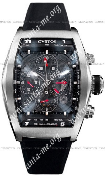 Cvstos Challenge Chronograph Mens Wristwatch CVCRTNSTGR