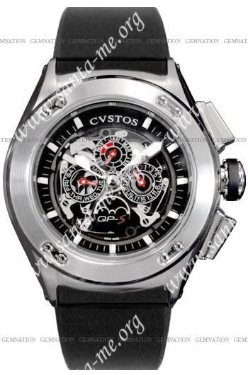 Cvstos Challenge-R 50 QP-S Mens Wristwatch CVQPRNSTGR