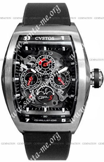 Cvstos Challenge QP-S Perpetual Mens Wristwatch CVQPTNSTGR