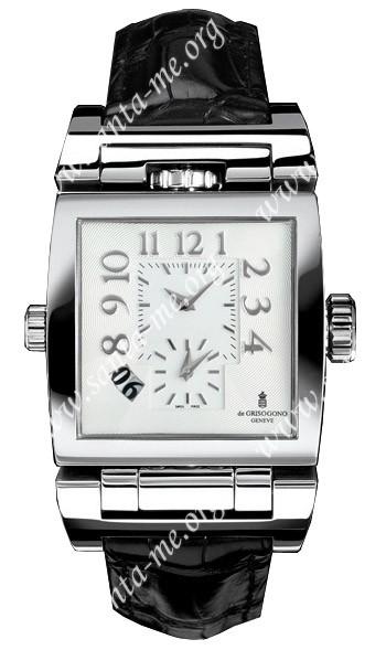 DeGrisogono Instrumento Doppio Tre Mens Wristwatch DOPPTRENO2