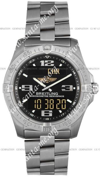 Breitling Aerospace Advantage Mens Wristwatch E7936210.B781