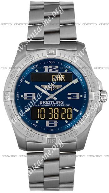 Breitling Aerospace Advantage Mens Wristwatch E7936210.C673