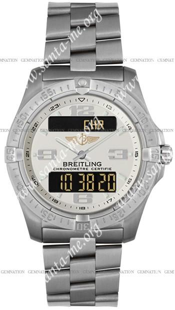 Breitling Aerospace Advantage Mens Wristwatch E7936210.G606