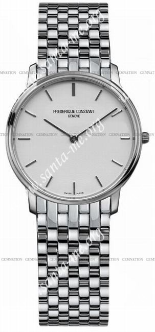 Frederique Constant Index Slim Line Ladies Wristwatch FC-200SW1S6B