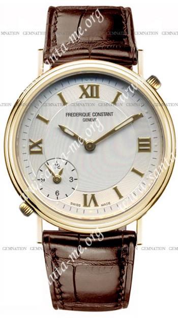 Frederique Constant Dual Time Mens Wristwatch FC-205HS35