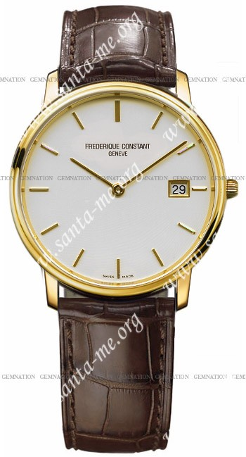 Frederique Constant Index Slim Line Mens Wristwatch FC-220SW4S5