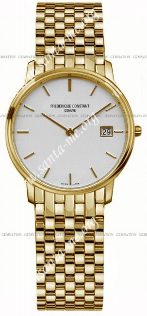 Frederique Constant Index Slim Line Mens Wristwatch FC-220SW4S5B