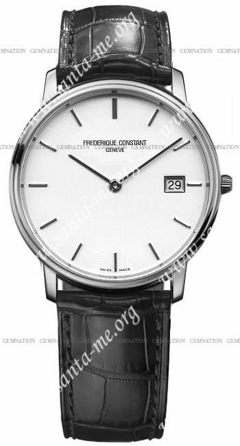 Frederique Constant Index Slim Line Mens Wristwatch FC-220SW4S6