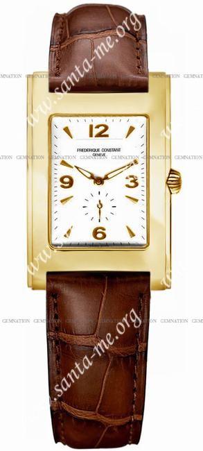 Frederique Constant Carree Quartz Unisex Wristwatch FC-235AC25