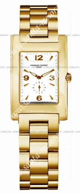Frederique Constant Carree Quartz Unisex Wristwatch FC-235AC25B
