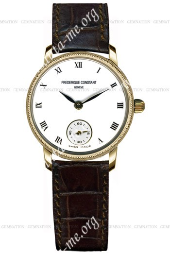 Frederique Constant Classics Quartz Small Second Ladies Wristwatch FC-235E65