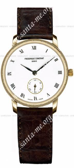 Frederique Constant Classics Quartz Small Second Unisex Wristwatch FC-235E75