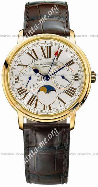 Frederique Constant Business Timer Mens Wristwatch FC-270EM3P5