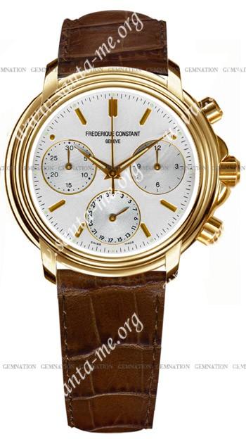 Frederique Constant Index Chronograph Mens Wristwatch FC-290V3A5