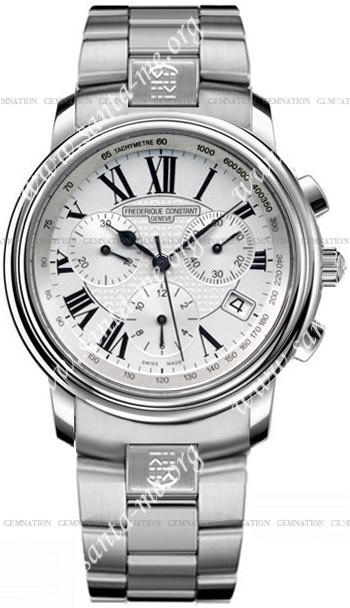 Frederique Constant Persuasion Chronograph Mens Wristwatch FC-292S3P6B