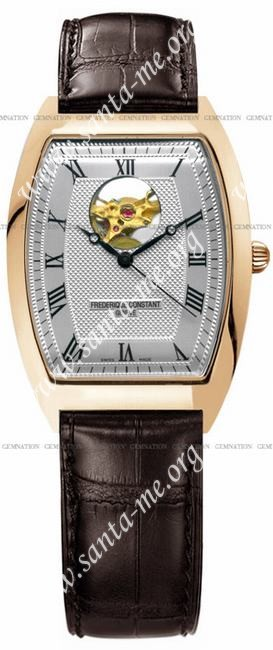 Frederique Constant Art Deco Heart Beat Mens Wristwatch FC-310M4T5