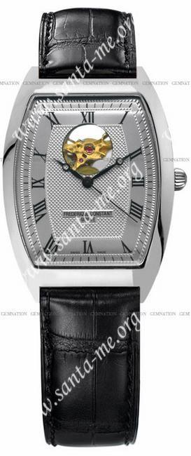 Frederique Constant Art Deco Heart Beat Mens Wristwatch FC-310M4T6