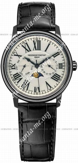 Frederique Constant Moonphase Mens Wristwatch FC-360M4P6