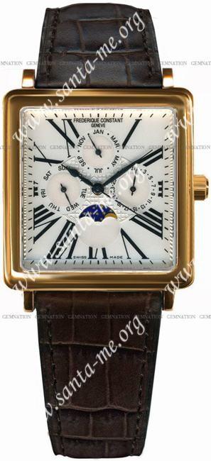 Frederique Constant Automatic Moonphase Mens Wristwatch FC-365M4C5
