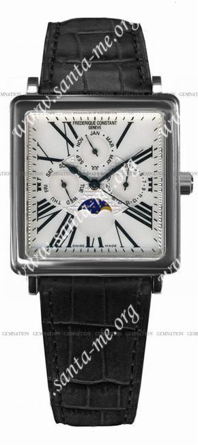 Frederique Constant Carree Moonphase Automatic Mens Wristwatch FC-365M4C6