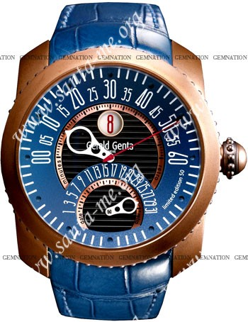Gerald Genta Gefica Mens Wristwatch GBS-Y-98-337-CM-BD