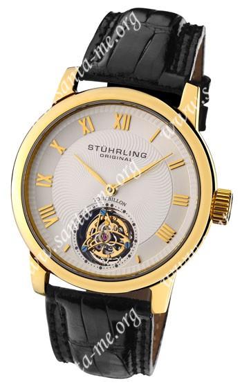 Stuhrling Kings Court Swiss Tourbillon Mens Wristwatch KCTYG