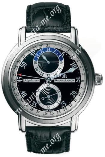 Maurice Lacroix Masterpiece Regulator Mens Wristwatch MP6148-SS001-320