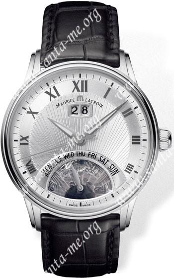 Maurice Lacroix Masterpiece Jours Retrogrades Mens Wristwatch MP6358-SS001-11E