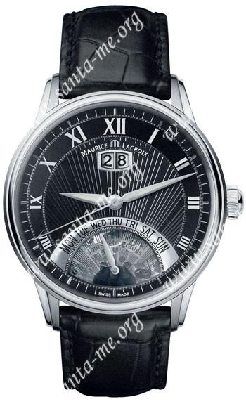 Maurice Lacroix Masterpiece Jours Retrogrades Mens Wristwatch MP6358-SS001-31E