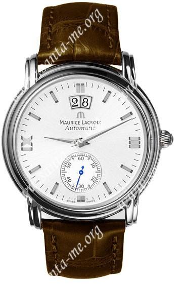 Maurice Lacroix Masterpiece Grand Guichet Mens Wristwatch MP6378-SS001-290BR
